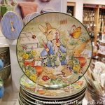 Shopping the Big Tabletop Sales & the Cutest Peter Rabbit Plates for Spring and Easter!