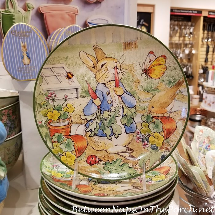 Peter Rabbit Dinnerware for Spring and Easter