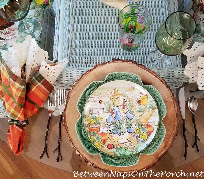 Peter Rabbit Dishware Salad Plates