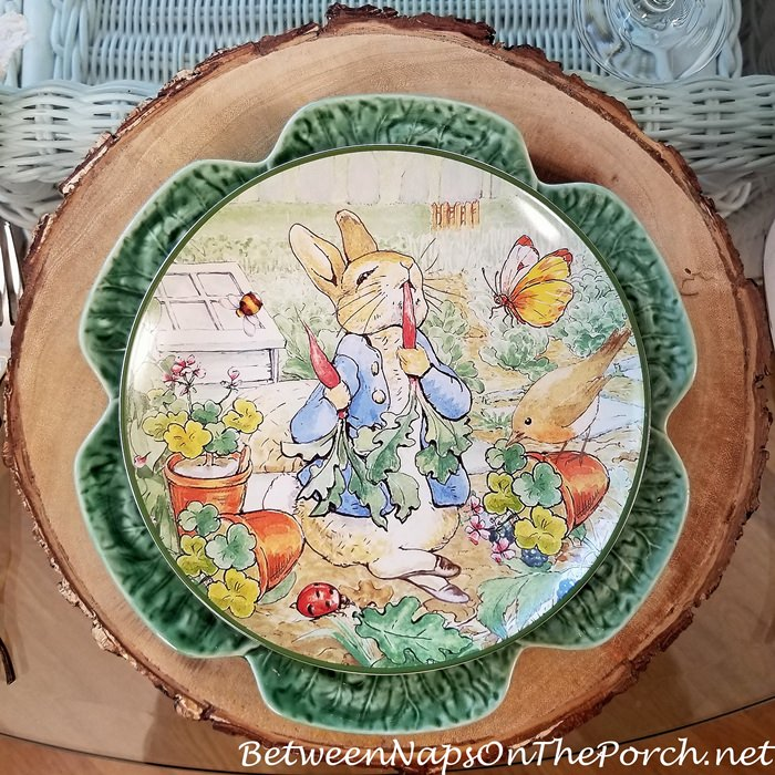 Peter Rabbit Plates for Spring and Easter