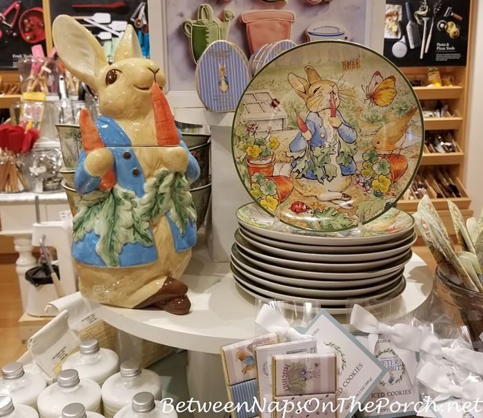 Peter Rabbit Salad Plates for Easter