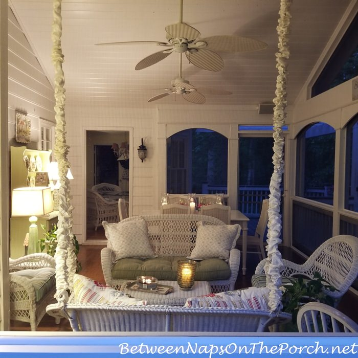 Screened Porch, 12-ft Ceiling