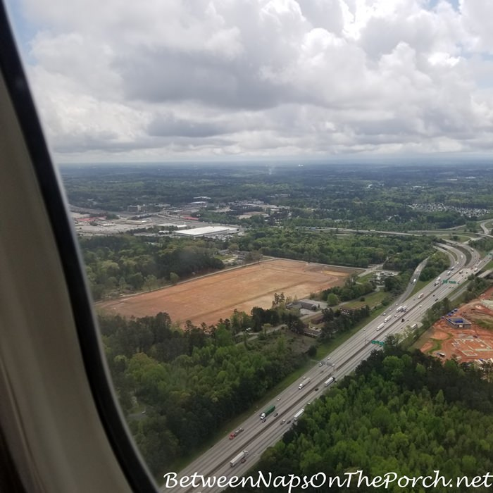 Surrounding Atlanta Airport