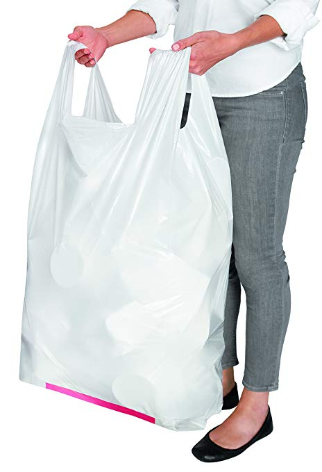 Trash Bags with Handles that tie easily