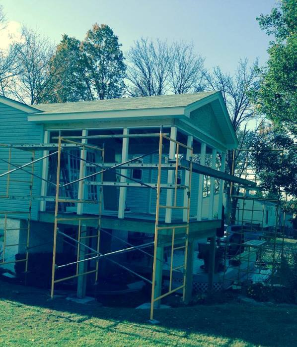 Add On A Screened Porch To Home