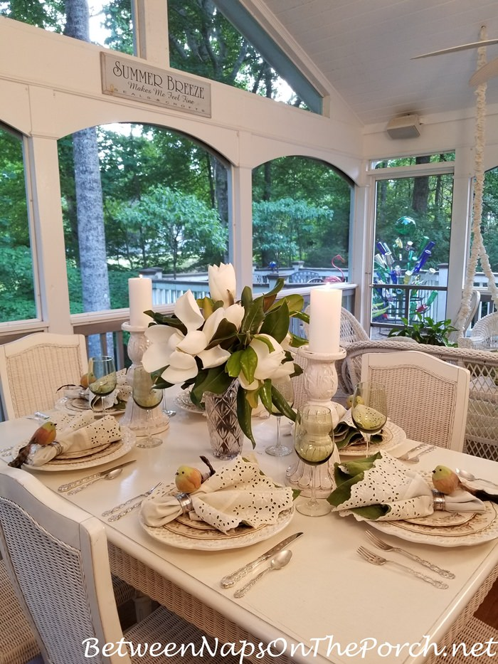 Add on a Screened Porch for Summer Dining