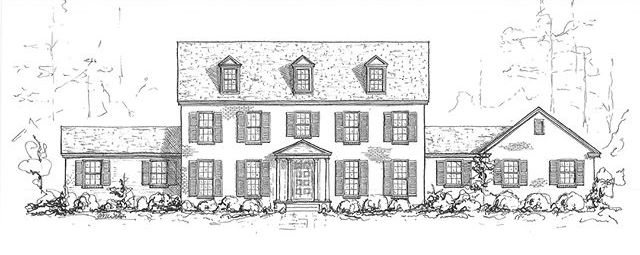 Design Plan for an Exterior Renovation, Creating a Georgian Home