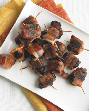 Devils on Horseback, Bacon Wrapped Dates