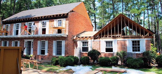 Exterior Renovation Makeover, Southern Home