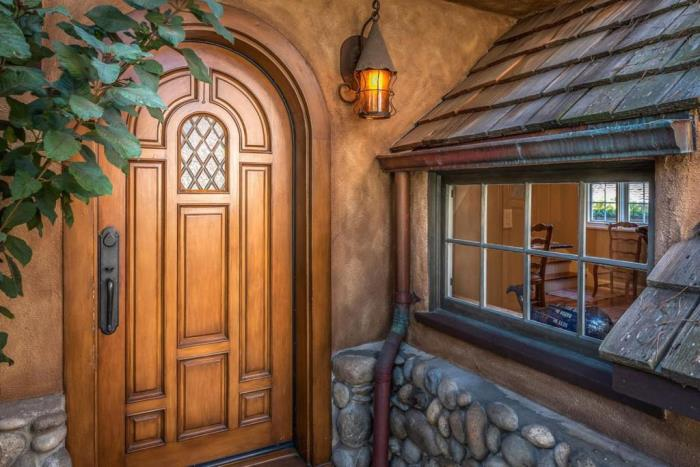 Fairytale Arched Door
