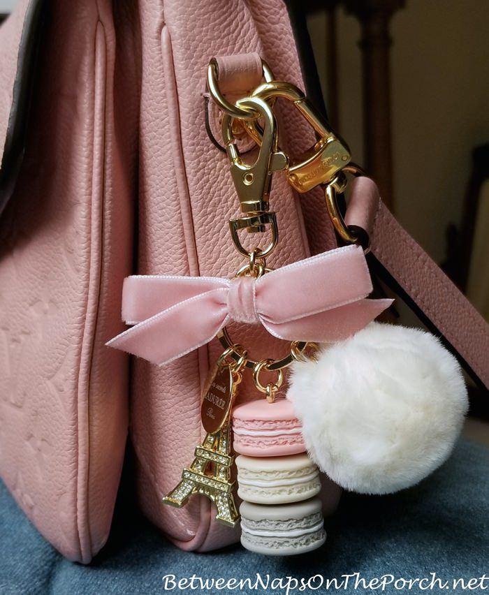 Laduree Fall-Winter Charm, Key Ring, Limited Edition Charm