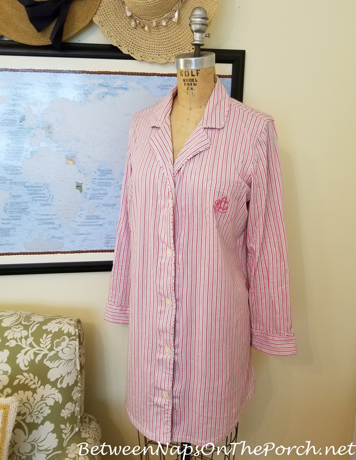 Lauren Ralph Lauren Pink Sleep Shirt