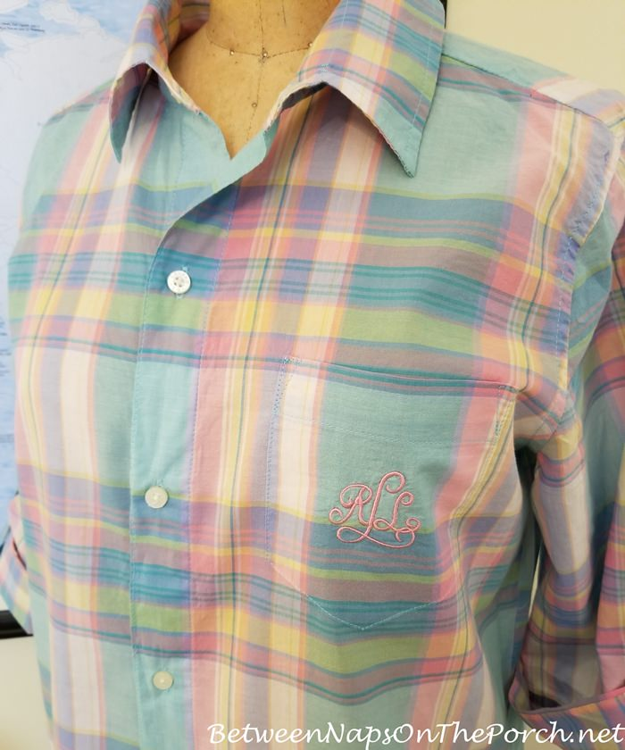 Madras Sleep Shirt, Ralph Lauren