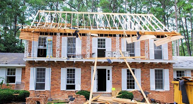 Raising the roof, home makeover renovation