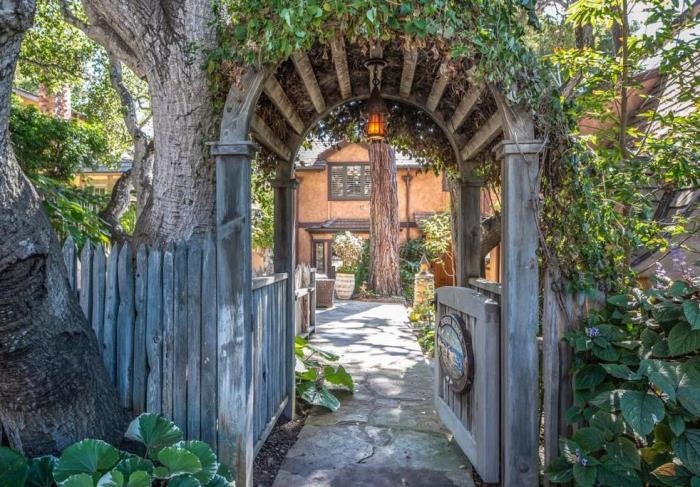 Storybook Cottage Gate Arbor