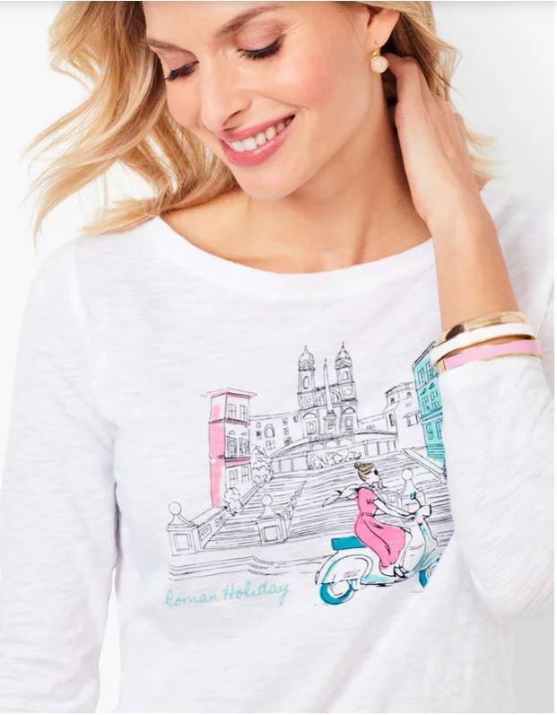 T-shirt Audrey Hepburn in Roman Holiday