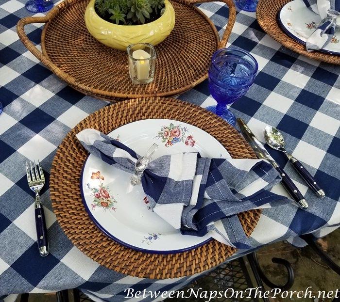 Blue-White Table Setting