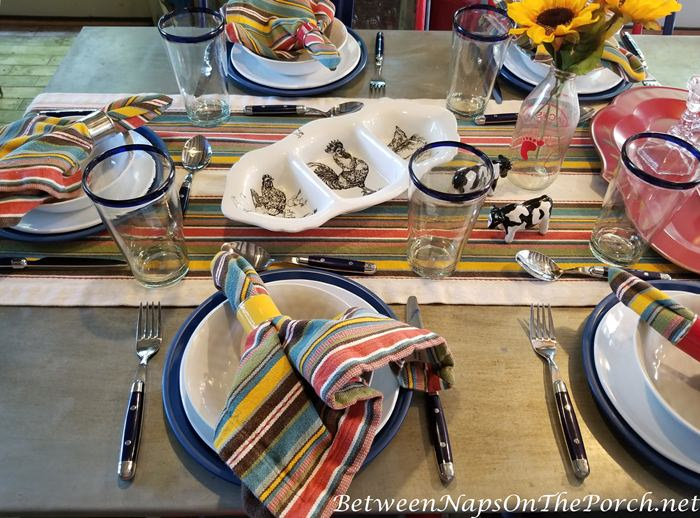 Colorful Dinnerware for Summer