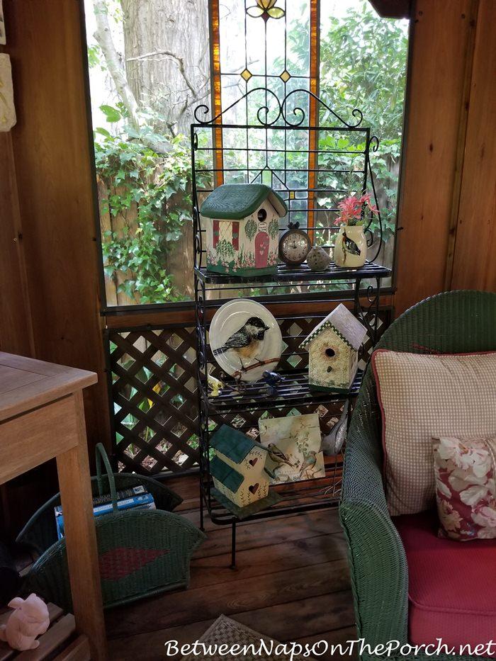 Decorate a Screened Porch