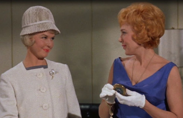 Doris Day's Hats in Lover Come Back and Pillow Talk