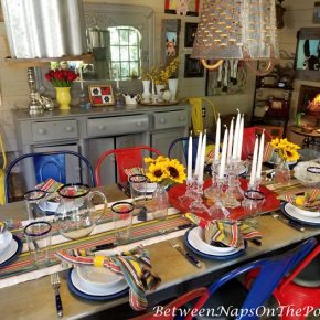 Entertaining in a Summer House