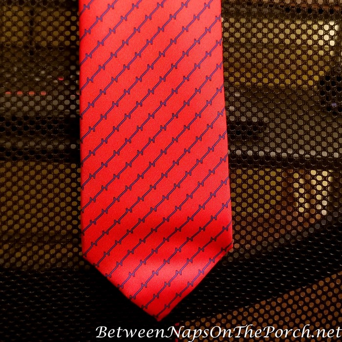 Getting Wrinkles out of neckties