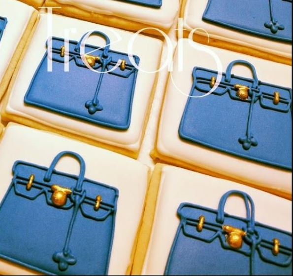 Hermes Birkin Bag Cookies, Inspired