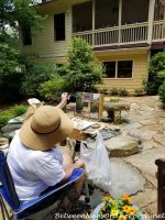 A Secret Garden, Lots of Whimsy and Beautiful Art: This Garden Tour Had it All!