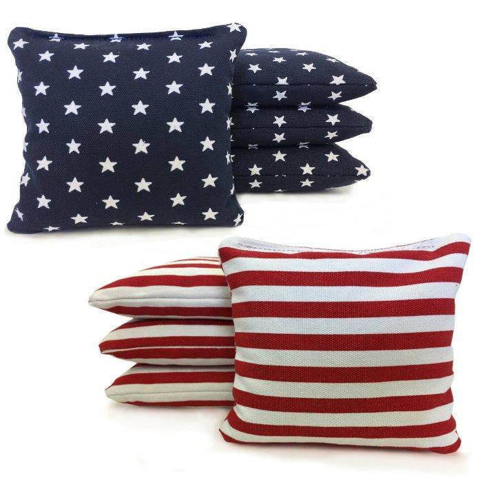 Patriotic Cornhole Bags