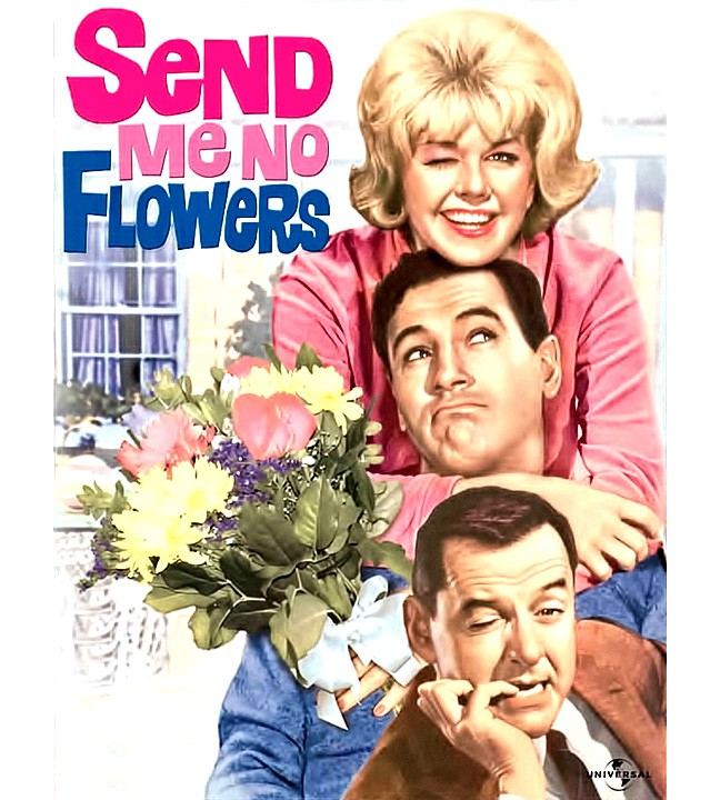 Send Me No Flowers Movie, Doris Day