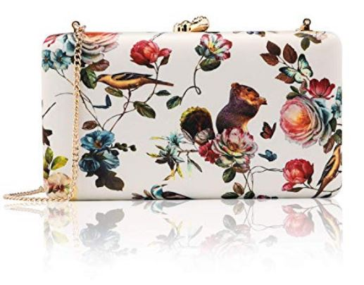 Adorable Nature-themed Clutch and Shoulder Bag