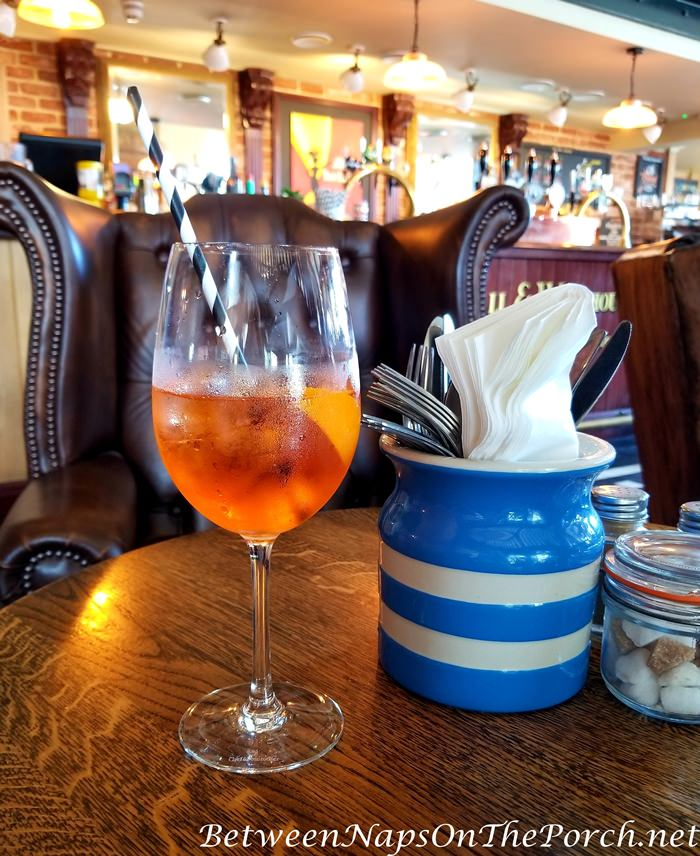 Aperol Spritz, Popular Summer Drink in England