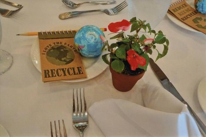 Earth Day Tablescape