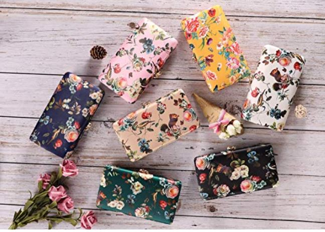 Floral, Nature Clutch Bag