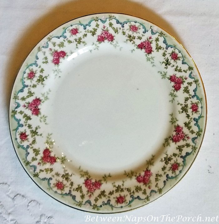 Floral Plate for Tea, Thomas Hardy's Home, Max Gate