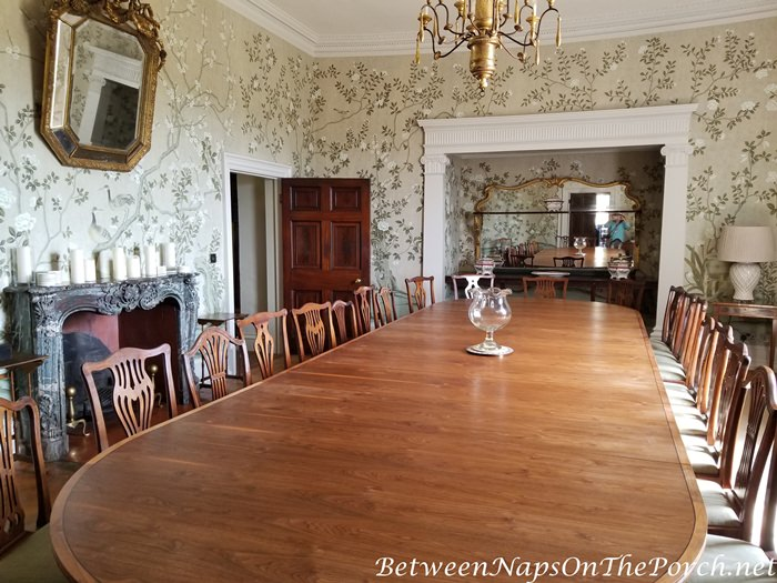 Goodnestone Park House Dining Room