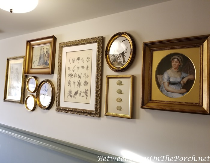 Great Way to Arrange Pictures on a Wall, The Duchess of Cornwall Inn