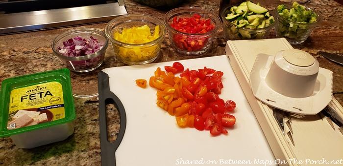 Ingredients for Easy Breakfast Casserole