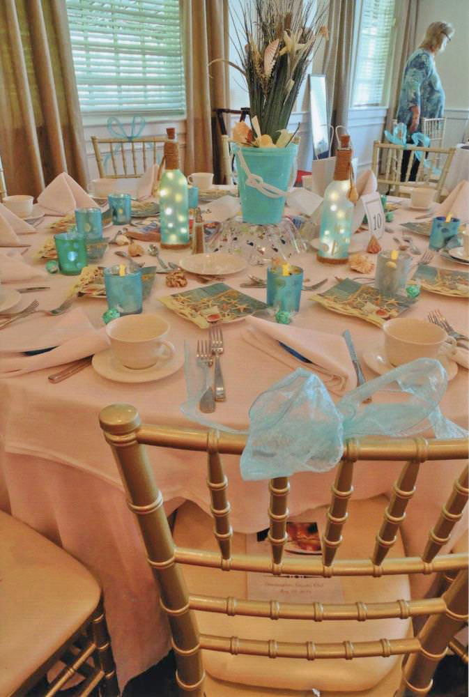 Ocean-Sea Themed Table Setting