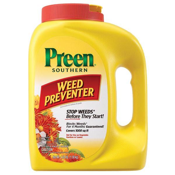 Preen for Preventing Weeds in Garden Beds