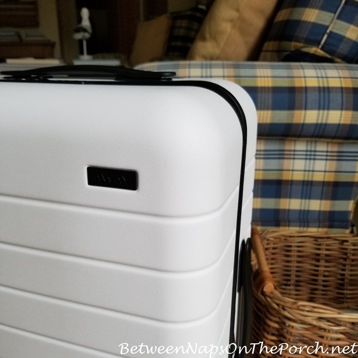 Scuffs and Stains Removed from Away Luggage Suitcase