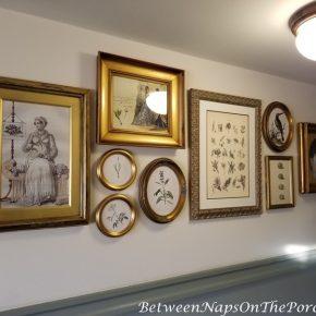 The Duchess of Cornwall Inn Picture Wall Arrangement