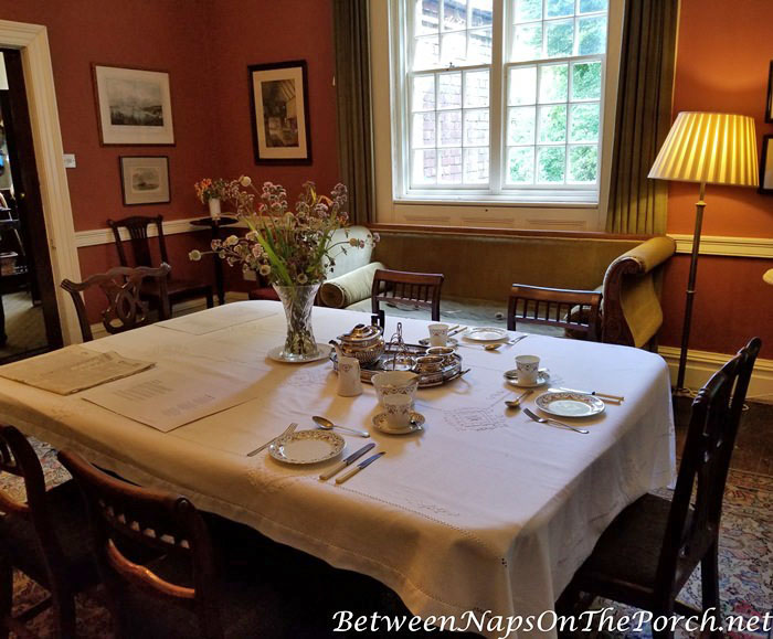 Thomas Hardy's Max Gate Home, Dining Room