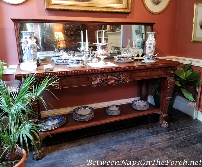 Thomas Hardy's Max Gate, Sideboard, Buffet in Dining Room