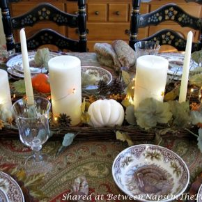Candlelit Thanksgiving Autumn Fall Table