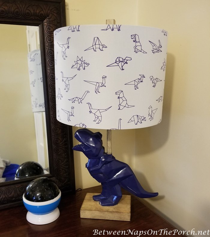 Dinosaur Themed Boy S Bedroom With Pottery Barn Dinosaur