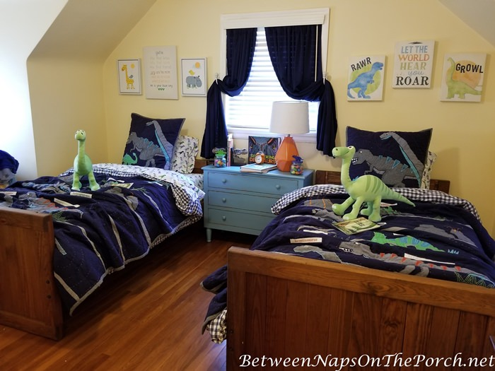 Dinosaur Themed Boy's Room