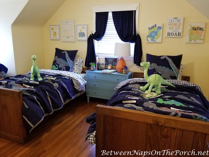Dinosaur Themed Boy's Room