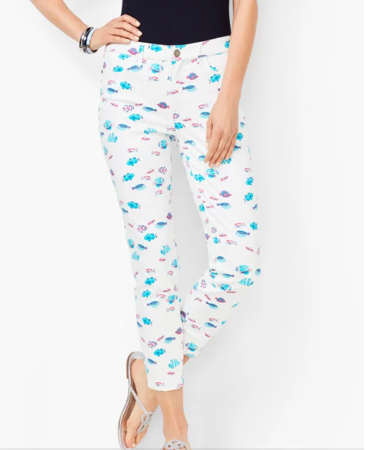 Fish Crop Pants for Summer