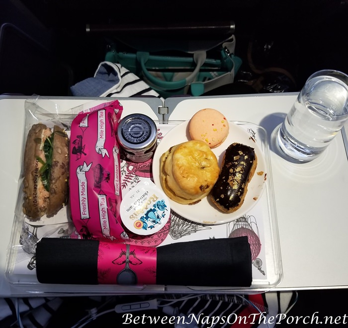 Mile High Tea, Virgin Atlantic
